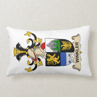 Winkler Family Crest Lumbar Pillow