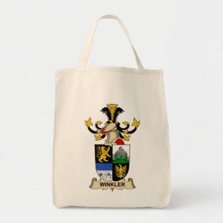 Winkler Family Crest Tote Bags