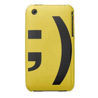 Winky face iPhone case