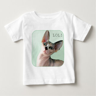 "Winky says, ""LOL!"" Baby T-Shirt"
