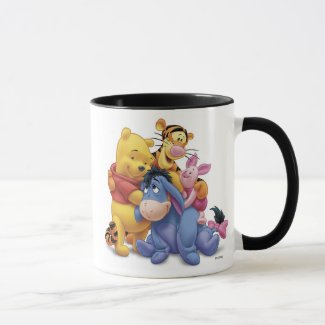 Winne the Pooh and Friends Disney Mug