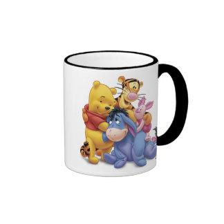 Winne the Pooh and Friends Disney Ringer Mug