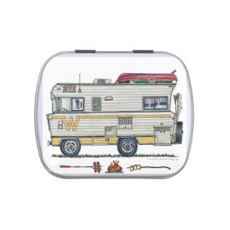 Winnebago Camper RV Apparel Candy Tins