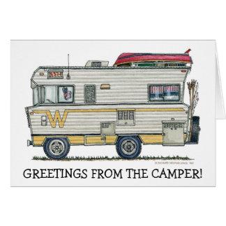 Winnebago Camper RV Apparel Card
