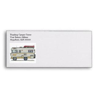 Winnebago Camper RV Apparel Envelopes