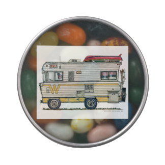 Winnebago Camper RV Apparel Jelly Belly Tins