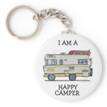 Winnebago Camper RV Apparel Keychain