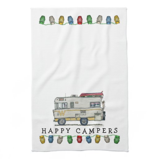 Winnebago Camper RV Apparel Kitchen Towel