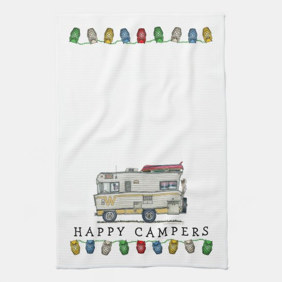 Winnebago Camper RV Apparel Kitchen Towel
