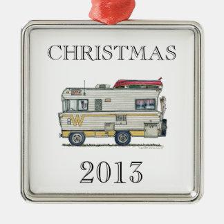 Winnebago Camper RV Apparel Metal Ornament