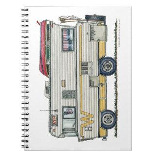 Winnebago Camper RV Apparel Note Book