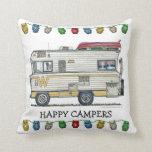 Winnebago Camper RV Apparel Pillow