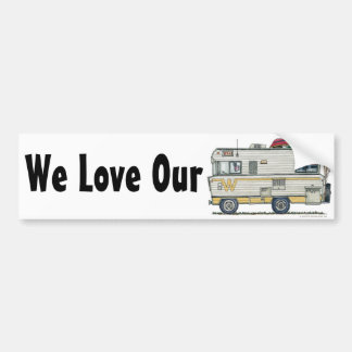 Winnebago Camper RV Bumper Sticker