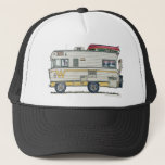"""Winnebago Camper RV Hats<br><div class=""""desc"""">&quot;Bless those that see the world from the windows of an RV! Like the rugged, stalwart folks that crossed the continent in covered wagons, these individuals today settle in every nook and crany of this great land. RVer hearts are as big as the outdoors and as warm as the campfires...</div>"""