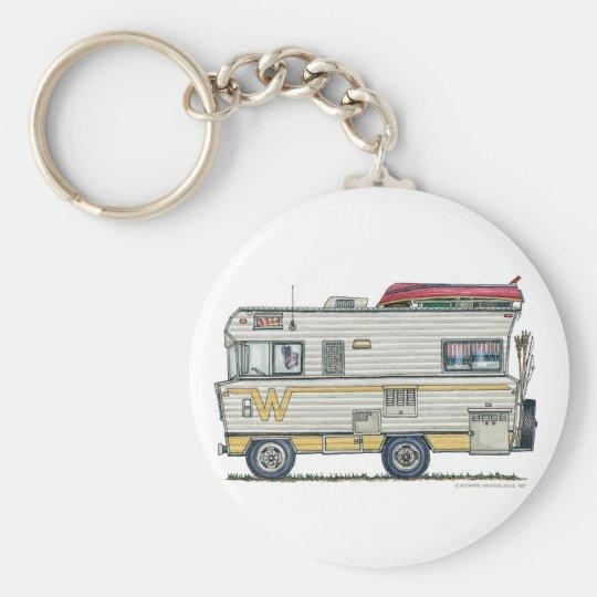 Winnebago Camper RV Key Chains