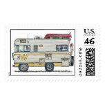 Winnebago Camper RV Stamps