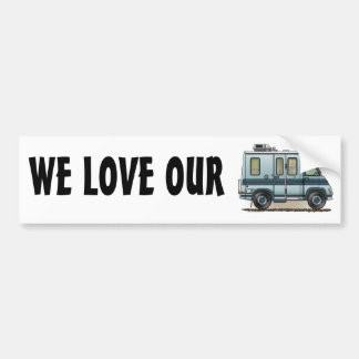 Winnebago Lasharo Camper RV Bumper Sticker
