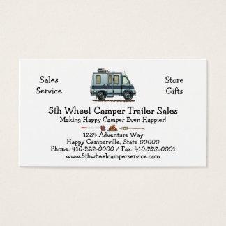 Winnebago LeSharo Camper RV Business Card