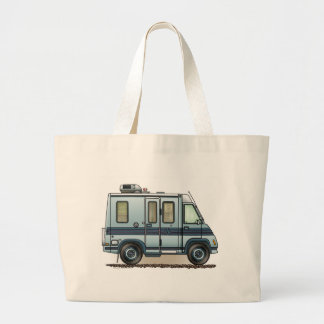 Winnebago LeSharo Camper RV Jumbo Tote Bag