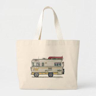 Winnebago RV Camper Bags/Totes Jumbo Tote Bag
