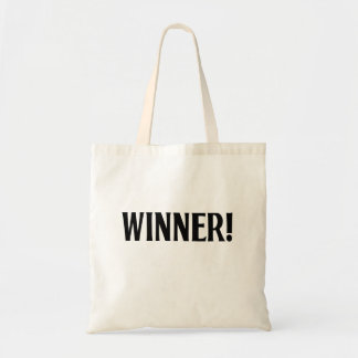 Winner! Canvas Bag