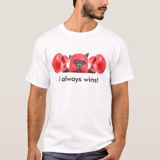 Winner boxer cat T-Shirt