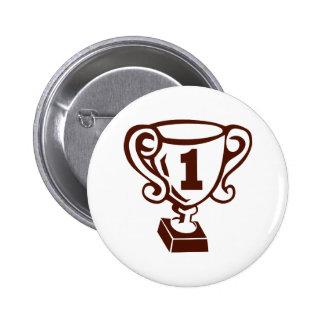 Winner - Champion Pinback Button