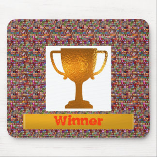 WINNER Cup Change text to your own Mousepad