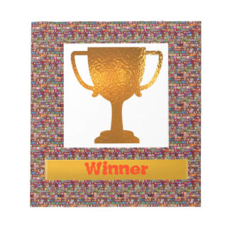 WINNER Cup  (Change text to your own) Notepad