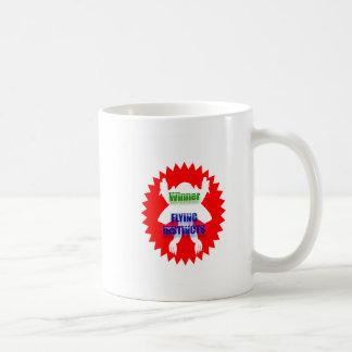 WINNER - Flying Instincts Coffee Mug