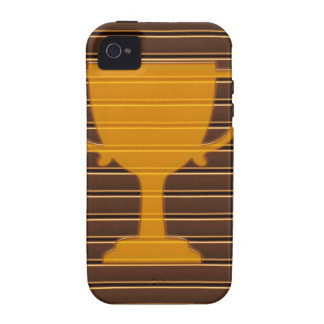 Winner Godl TROPHY template diy add TEXT GREETINGS iPhone 4 Cases