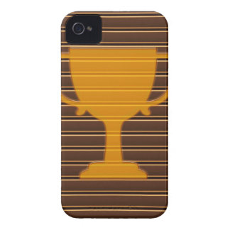 Winner Godl TROPHY template diy add TEXT GREETINGS Case-Mate iPhone 4 Cases