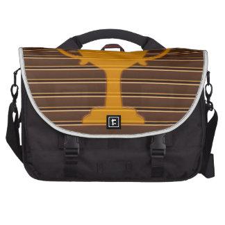 Winner Godl TROPHY template diy add TEXT GREETINGS Laptop Bag