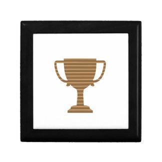 Winner Gold Trophy  TEMPLATE add TEXT GREETING Jewelry Box