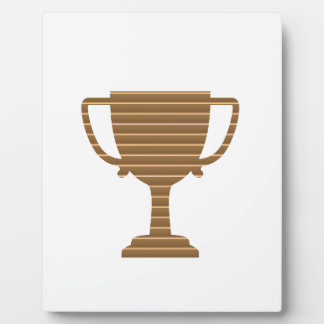 Winner Gold Trophy  TEMPLATE add TEXT GREETING Plaque