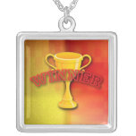 Winner Medal Personalized Necklace