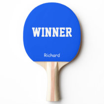 Winner Name Personalized Ping Pong Paddle