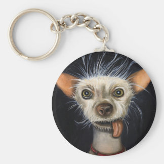 Winner of the Ugly Dog Contest 2011 Keychain