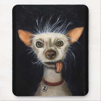 Winner of the Ugly Dog Contest 2011 Mouse Pad