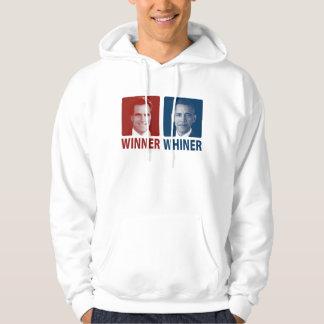 Winner or Whiner 2012 Election Hoodie