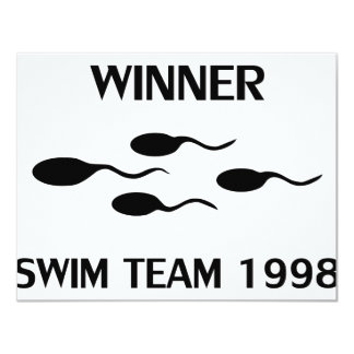 winner swim team 1998 icon card