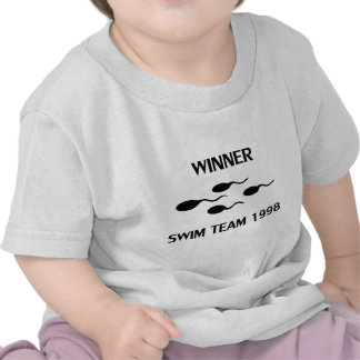 winner swim team 1998 icon t-shirts