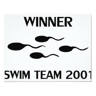 winner swim team 2001 icon custom invites
