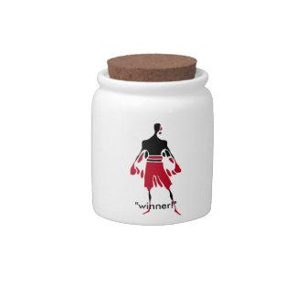 WINNER - the spirit of victory Candy Jars
