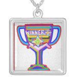WINNER Trophy Award Reward Recognition Custom Jewelry