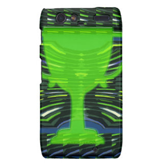 Winner Trophy Green Environmentalist Droid RAZR Covers
