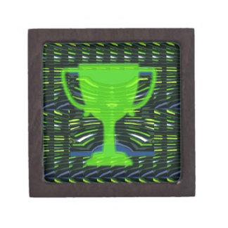 Winner Trophy Green Environmentalist Gift Box