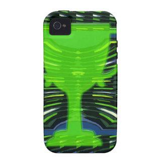 Winner Trophy Green Environmentalist iPhone 4 Case