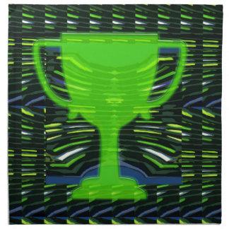 Winner Trophy Green Environmentalist Napkin