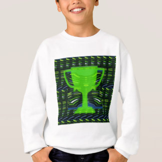 Winner Trophy Green Environmentalist Sweatshirt